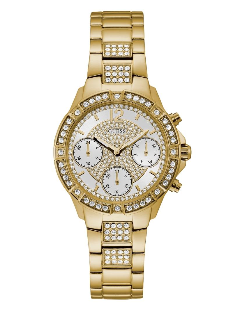 Gold-Tone Chronograph Sport Watch