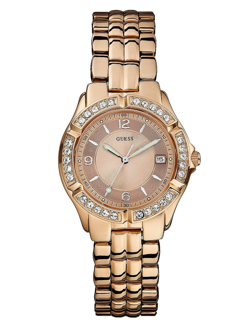 Rose Gold-Tone Midsize Sport Watch
