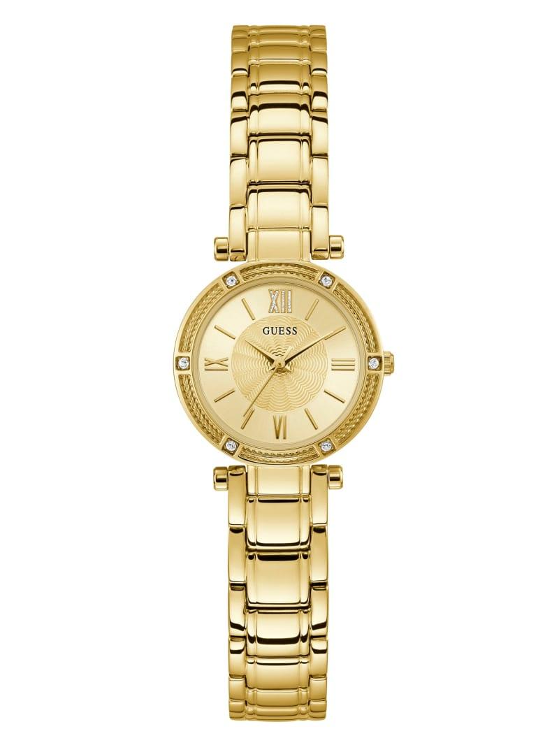 Mini Gold-Tone Bracelet Watch