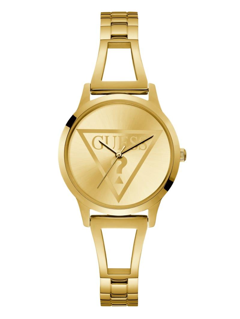 Gold-Tone Analog Watch