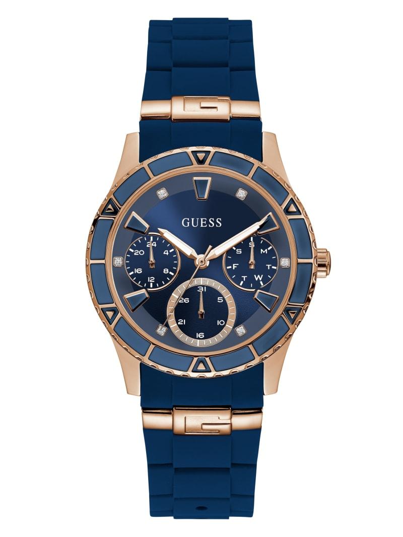 Blue Multifunction Watch