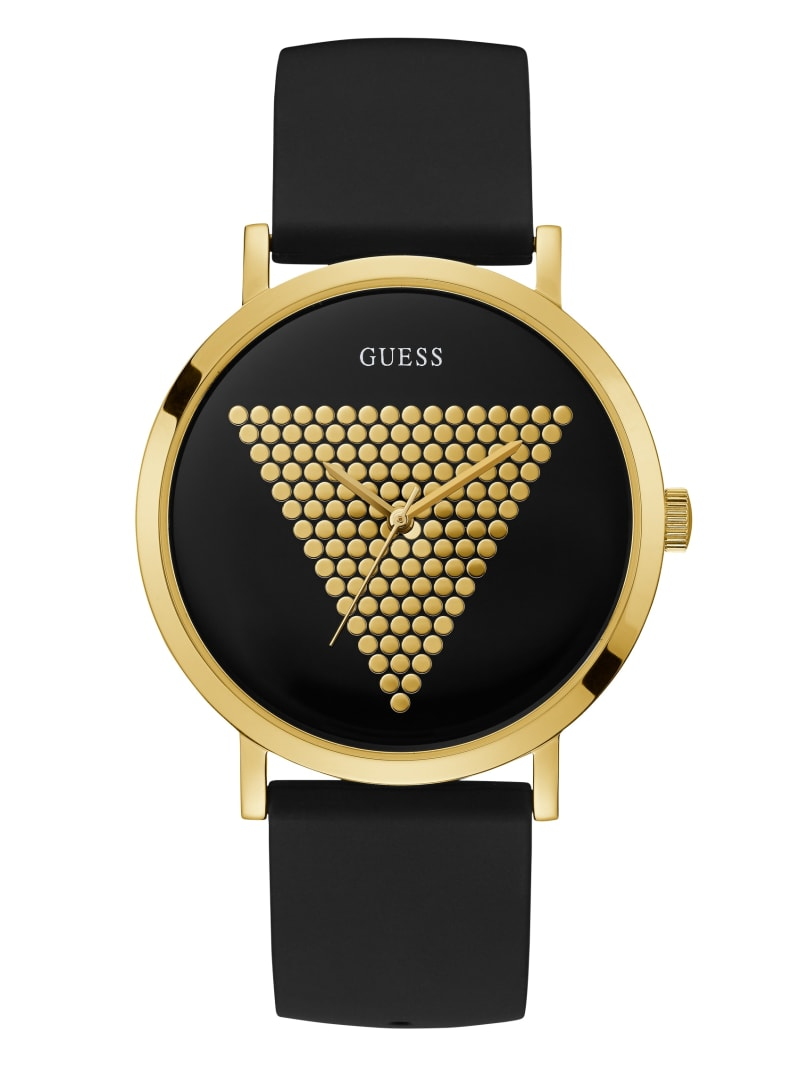 Black and Gold-Tone Analog Watch