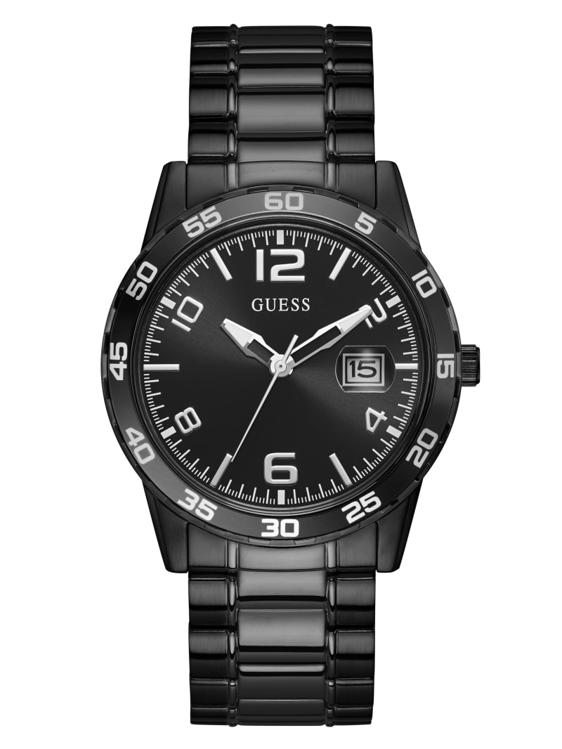 Black-Tone And Black Dial Analog Watch