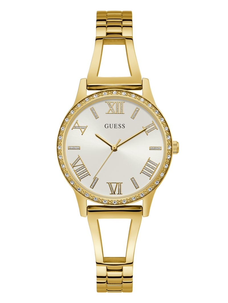 Gold-Tone Analog Watch