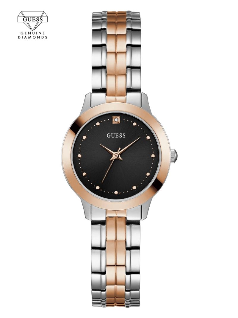 Two-Tone Petite Diamond Watch