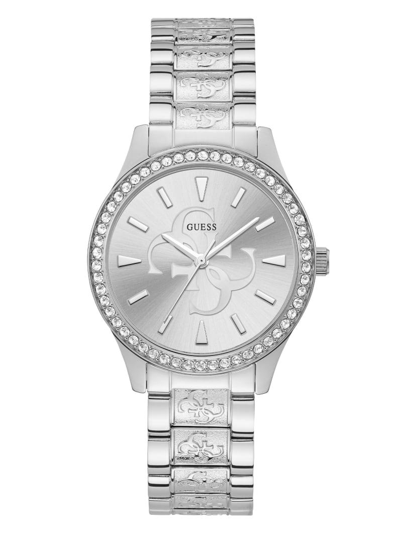 Silver-Tone Quattro G Analog Watch
