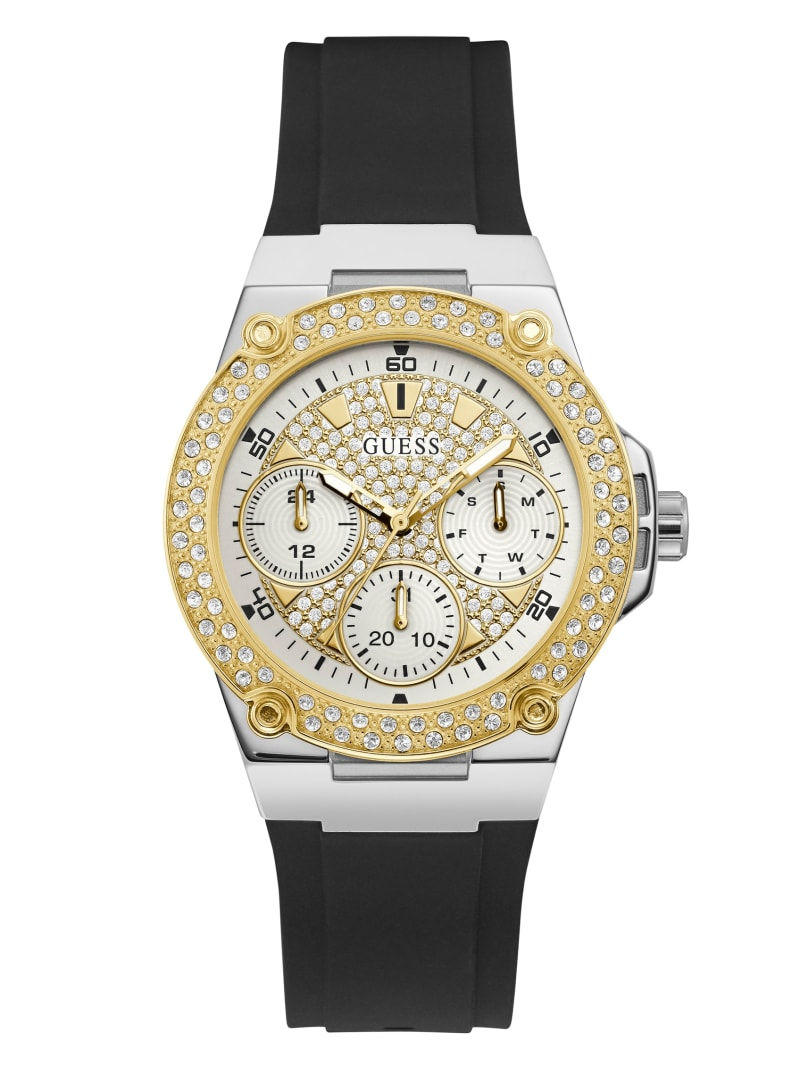 Stainless Steel And Gold-Tone Multifunction Watch