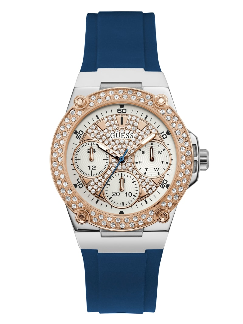 Stainless Steel And Rose Gold-Tone Multifunction Watch