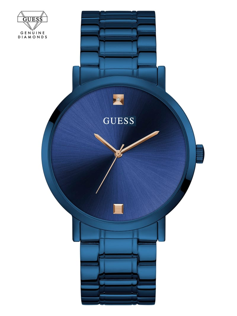 Blue Diamond Analog Watch