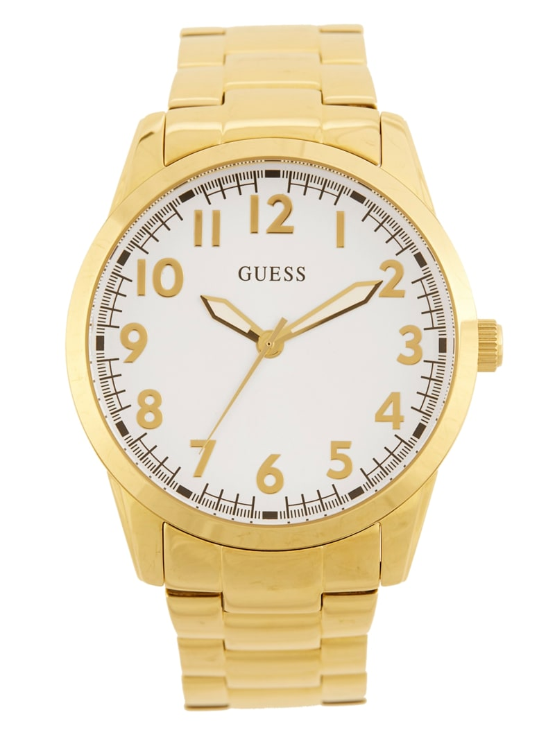 Gold-Tone Classic Analog Watch