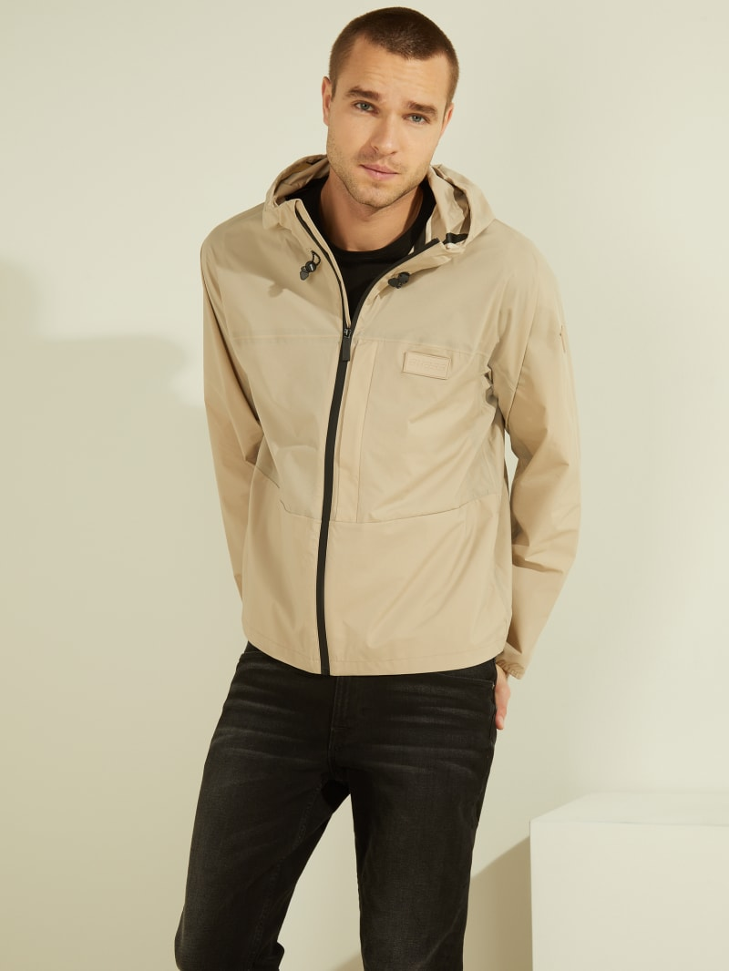 Alton Hooded Nylon Jacket