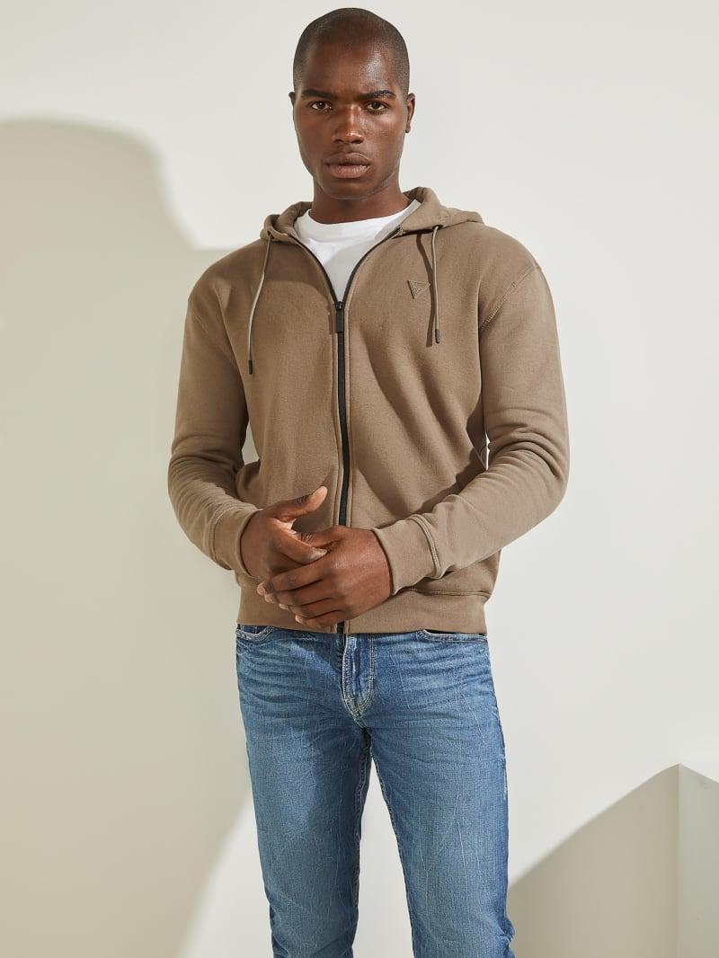 Eco Aldwin Zip-Up Sweatshirt