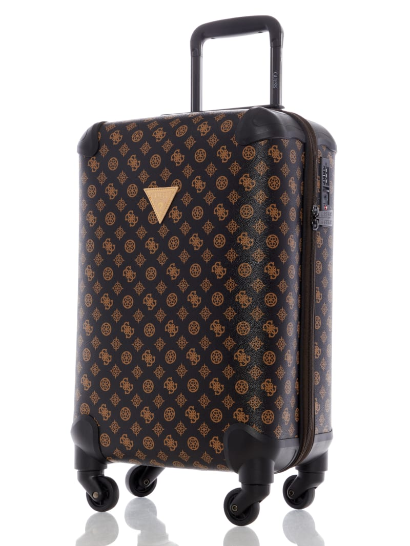 Guess Unisex-Adult Contemporary Fashion Checked Luggage