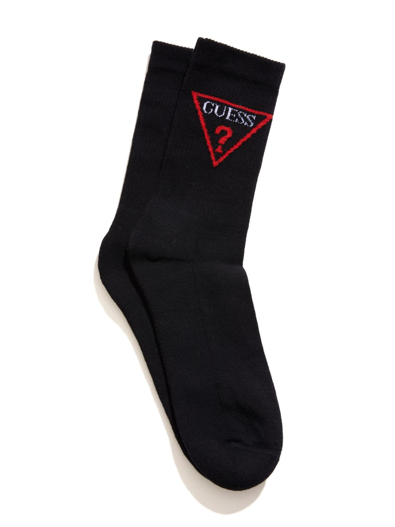 Triangle Logo Crew Socks