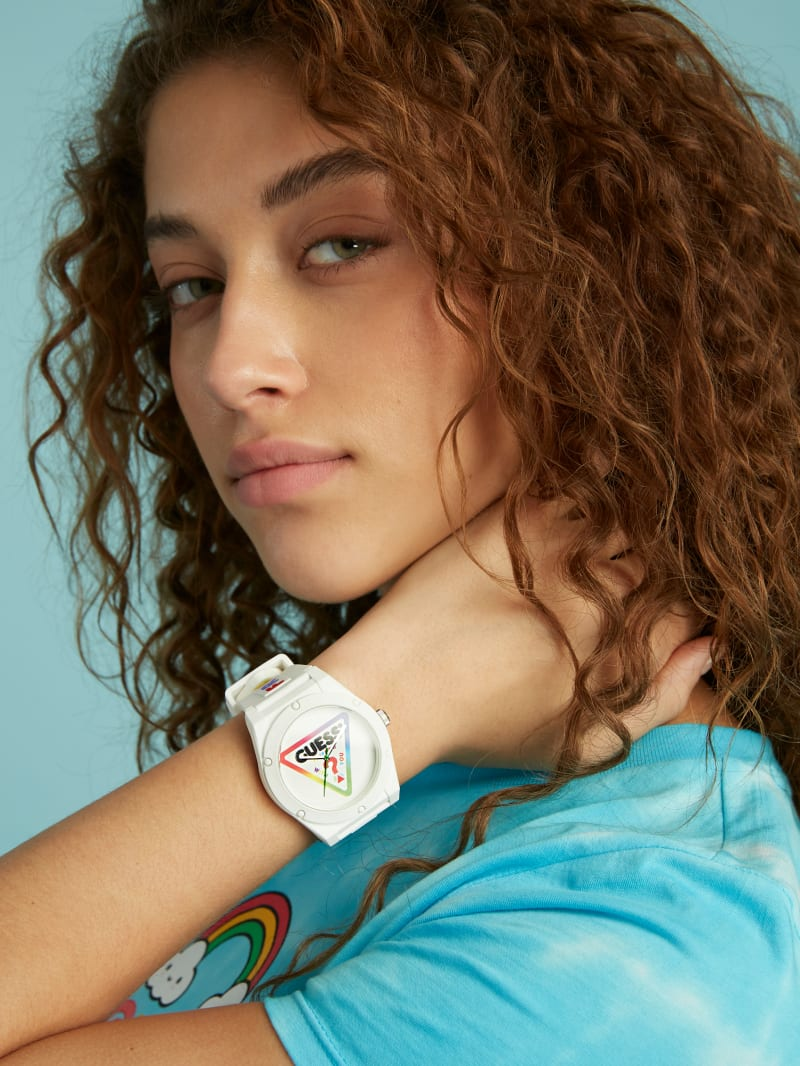 FriendsWithYou Large Logo Silicon Watch