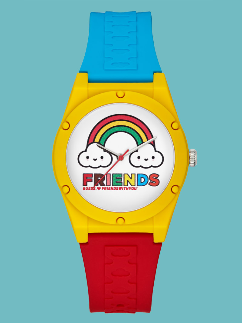 FriendsWithYou Petite Analog Silicon Watch