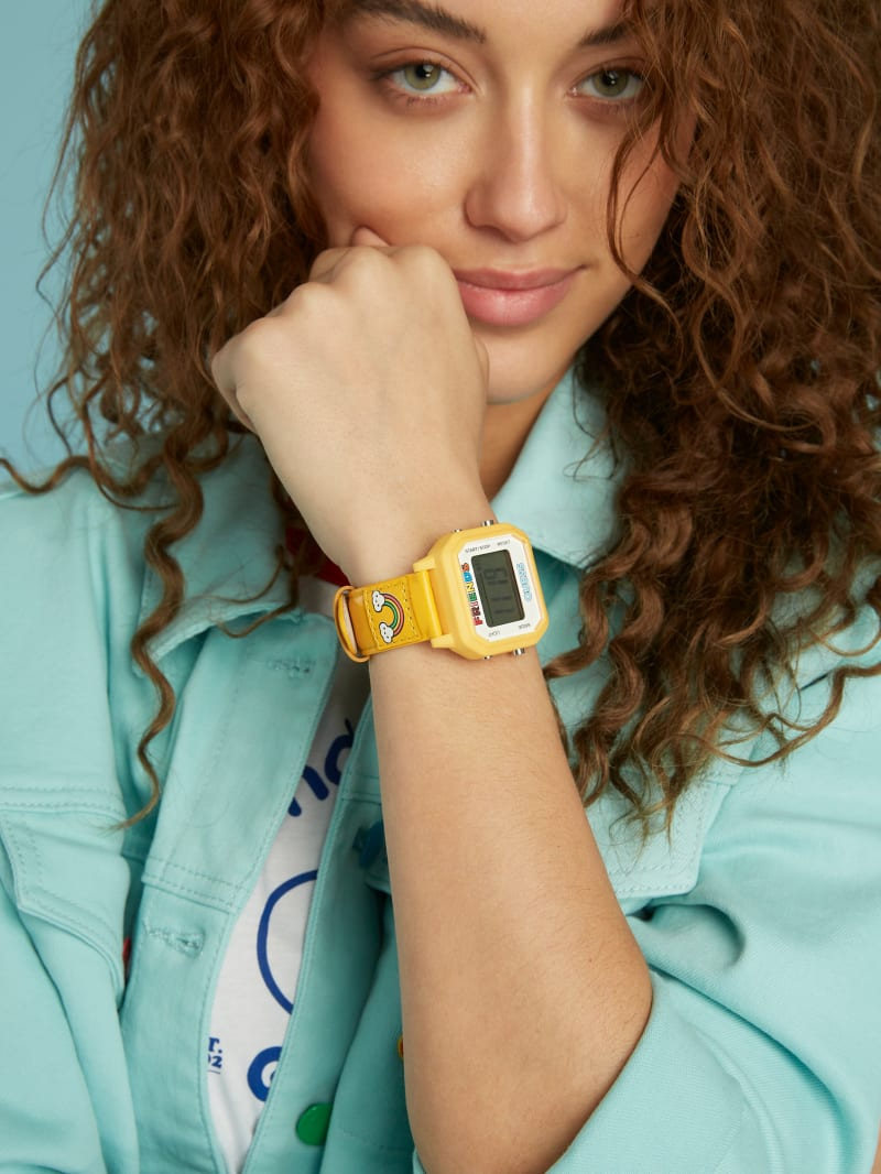 FriendsWithYou Yellow Digital Watch