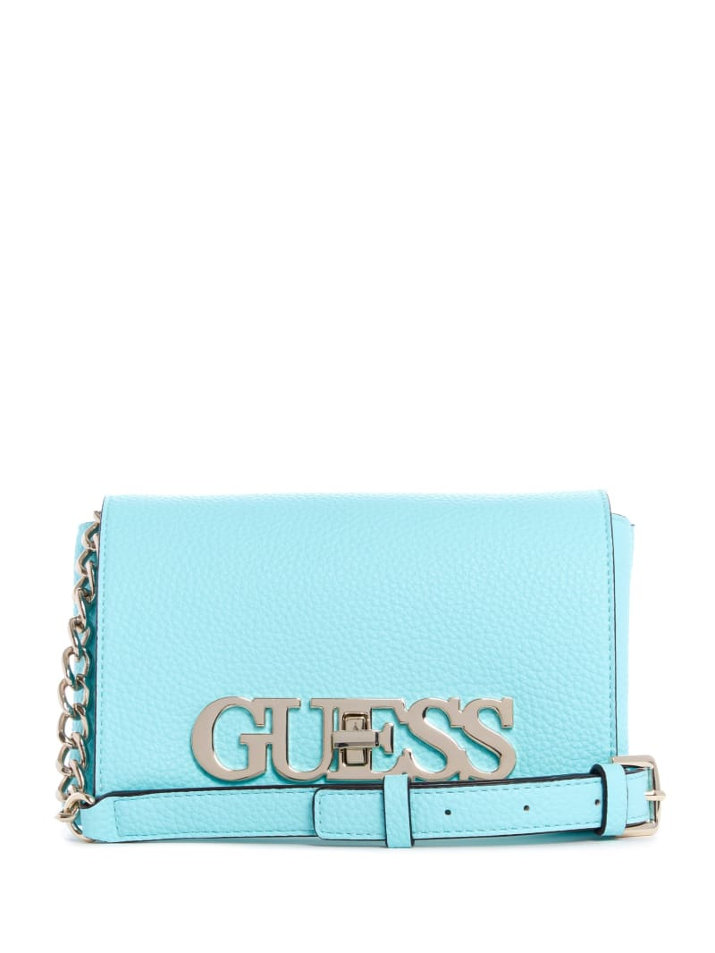 Uptown Chic Mini Faux-Leather Crossbody