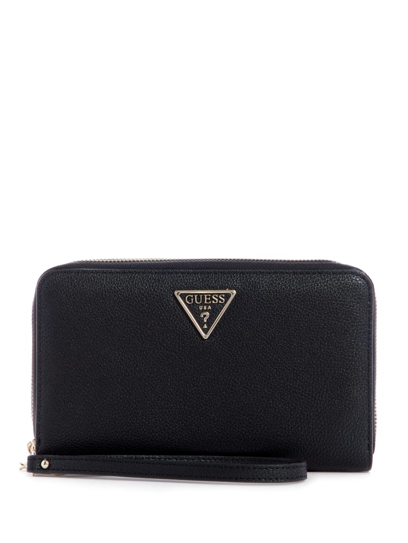 Sandrine Double Zip-Around Wristlet