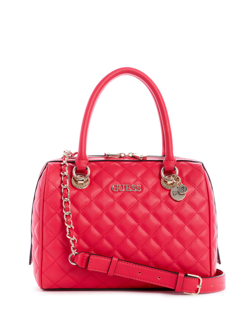 Illy Quilted Box Satchel