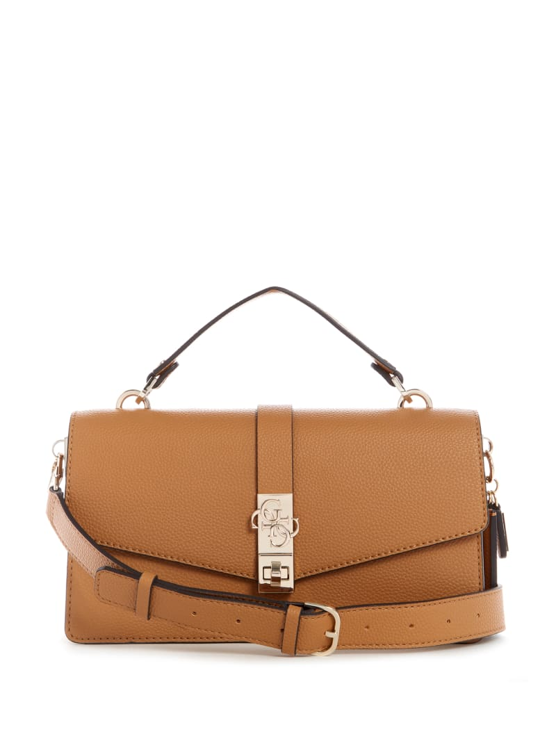 Albury Top-Handle Flap Bag