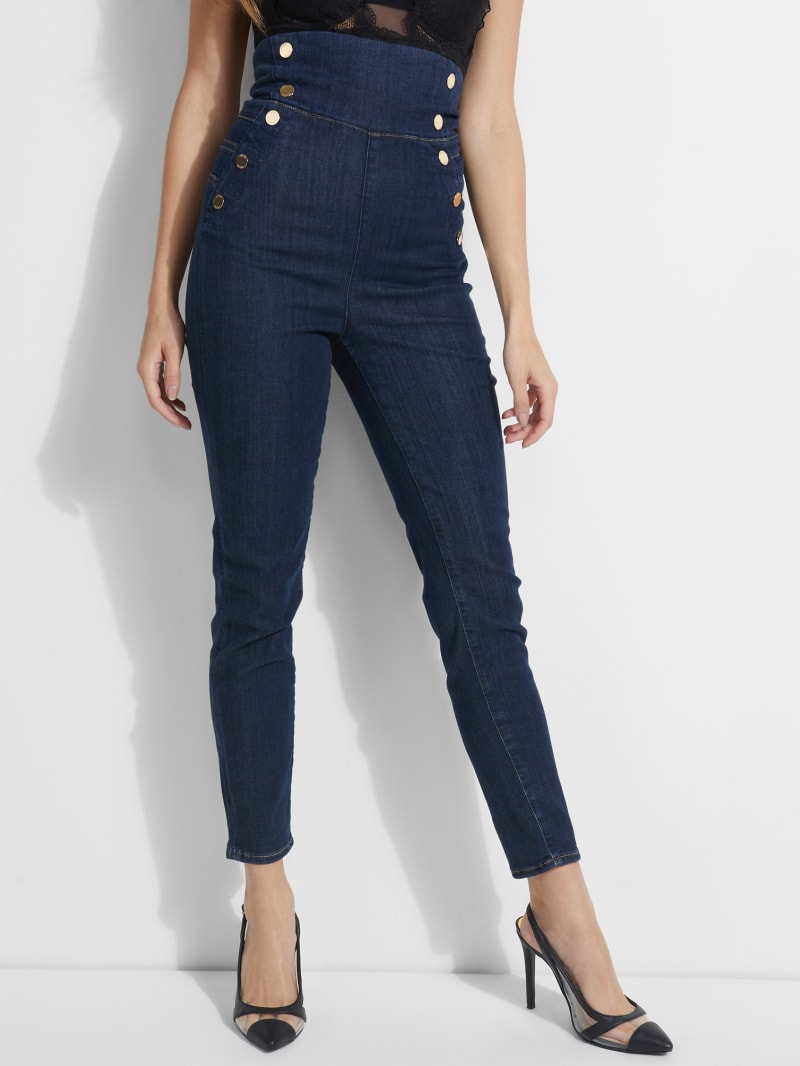 Eco Gwen Super-High Rise Corset Jeans