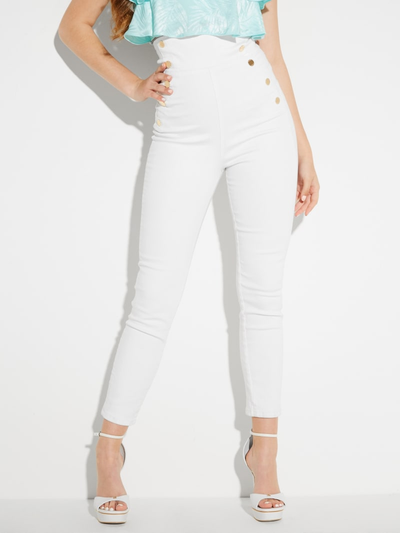 Gwen Super-High Rise Corset Jeans