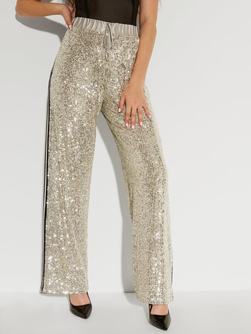 Skyler Sequin Trousers
