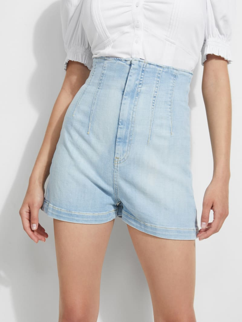 Alexis Super-High Rise Corset Shorts