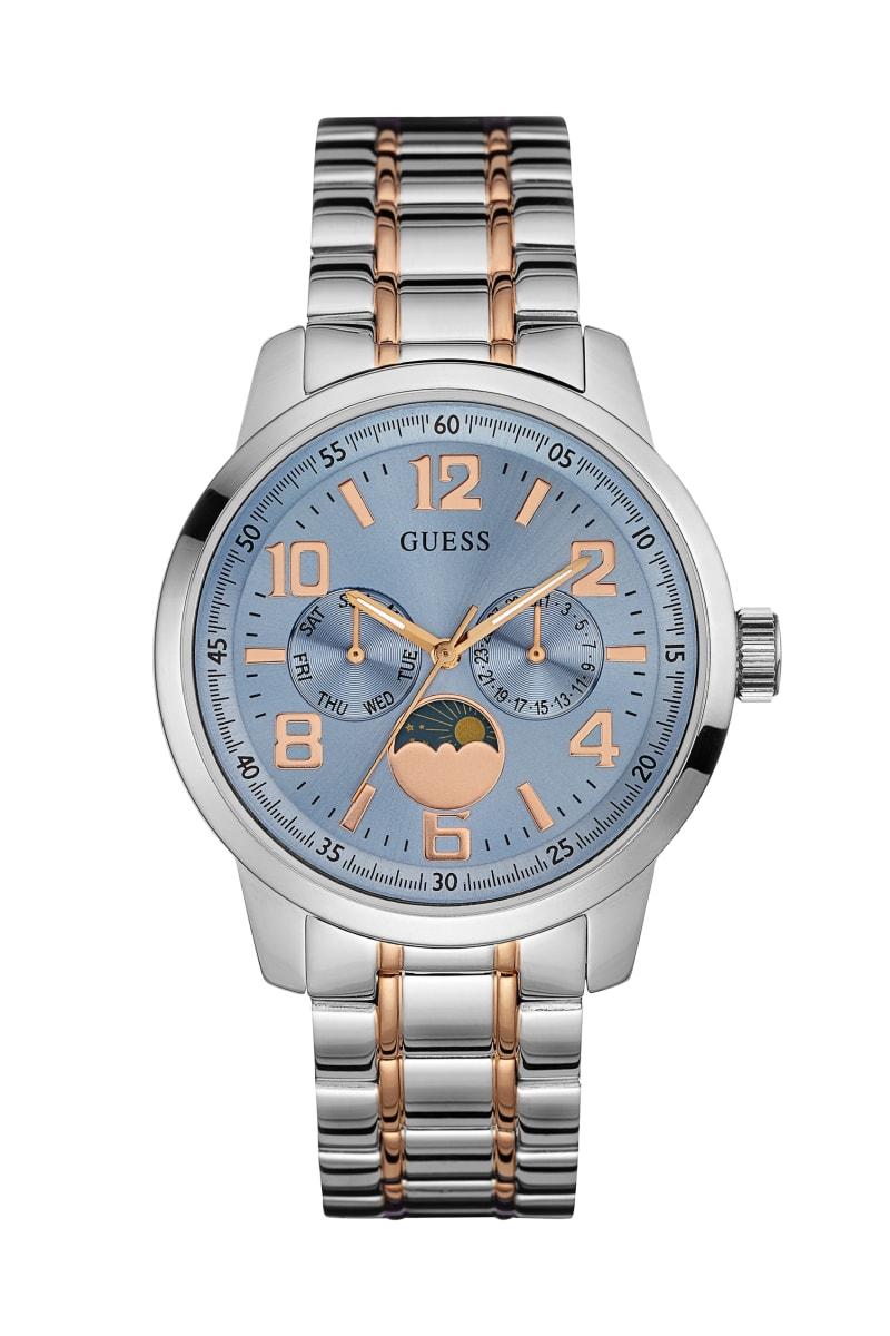 Silver-Tone Classic Dress Watch