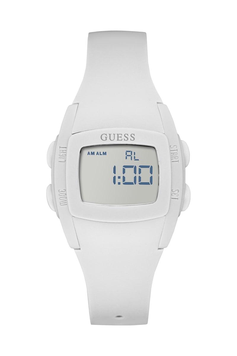 White Digital Sport Watch
