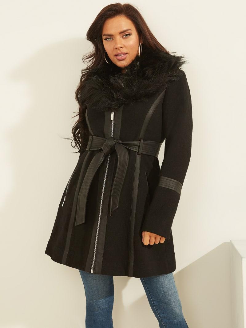 Sara Wool-Blend Coat