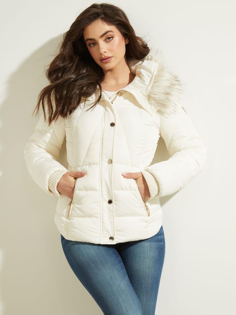 Tawni Faux-Fur Hooded Jacket