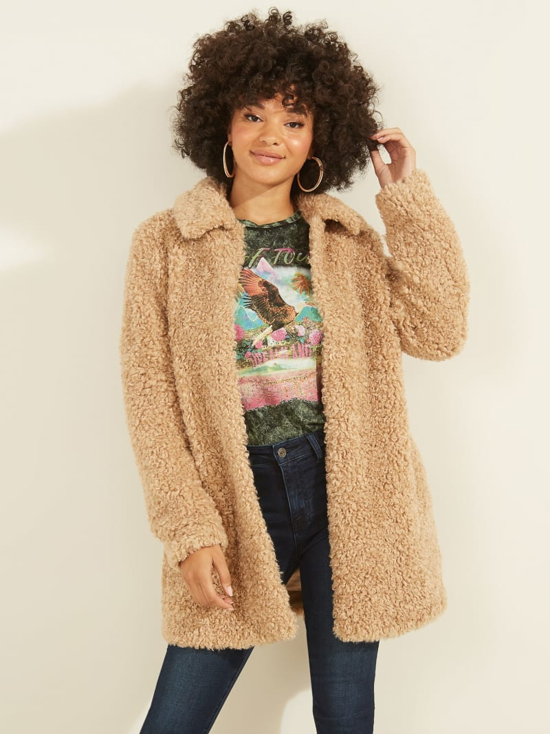 Marina Teddy Coat