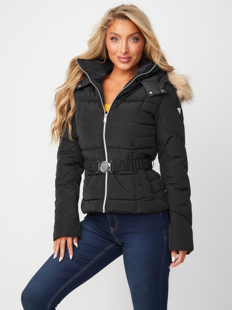 Oriana Belted Puffer Jacket