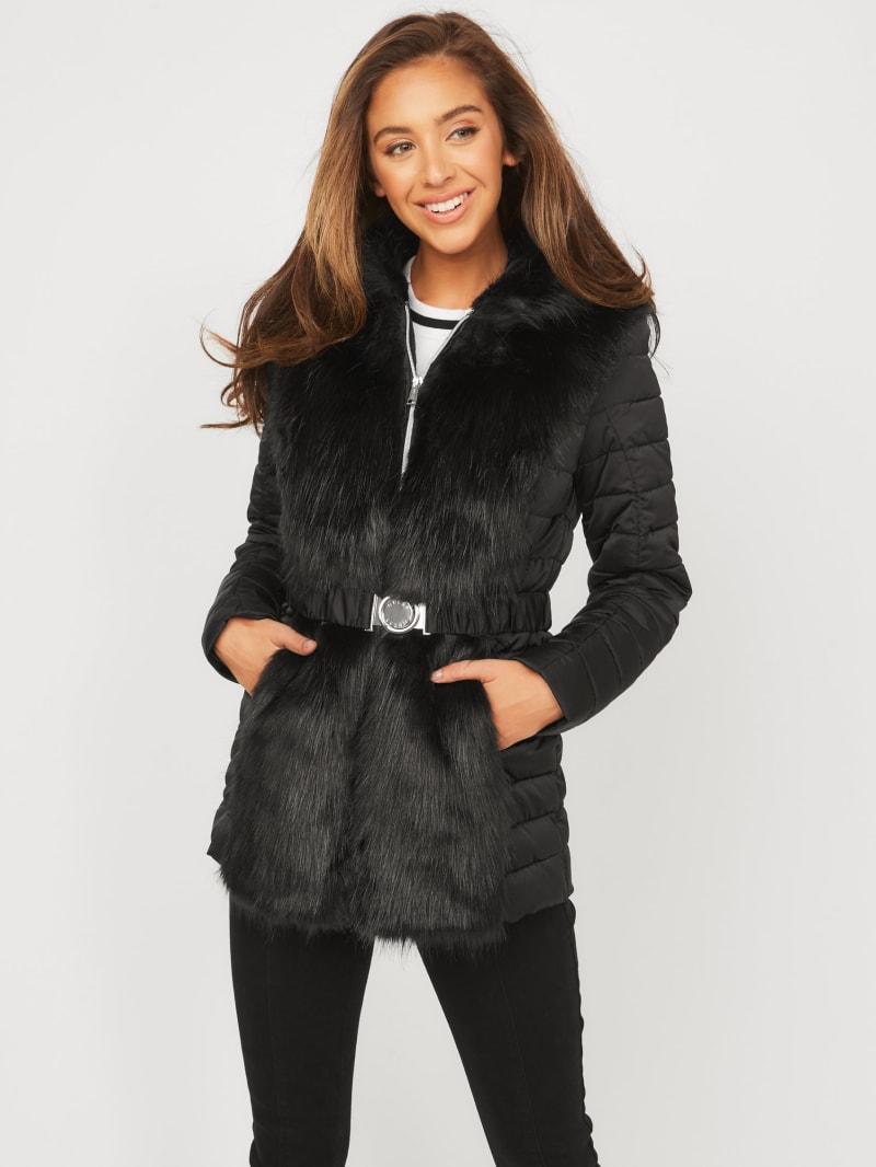 Tori Faux-Fur Padded Jacket