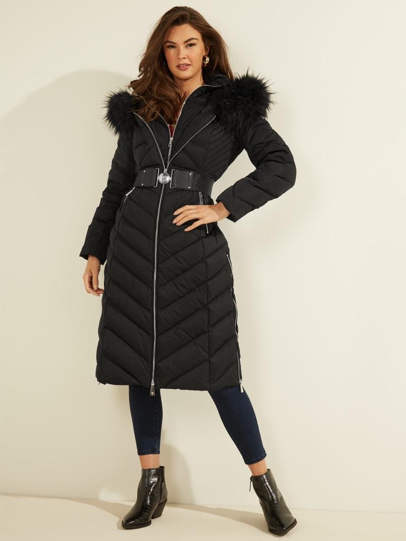 Sofia Belted Longline Coat