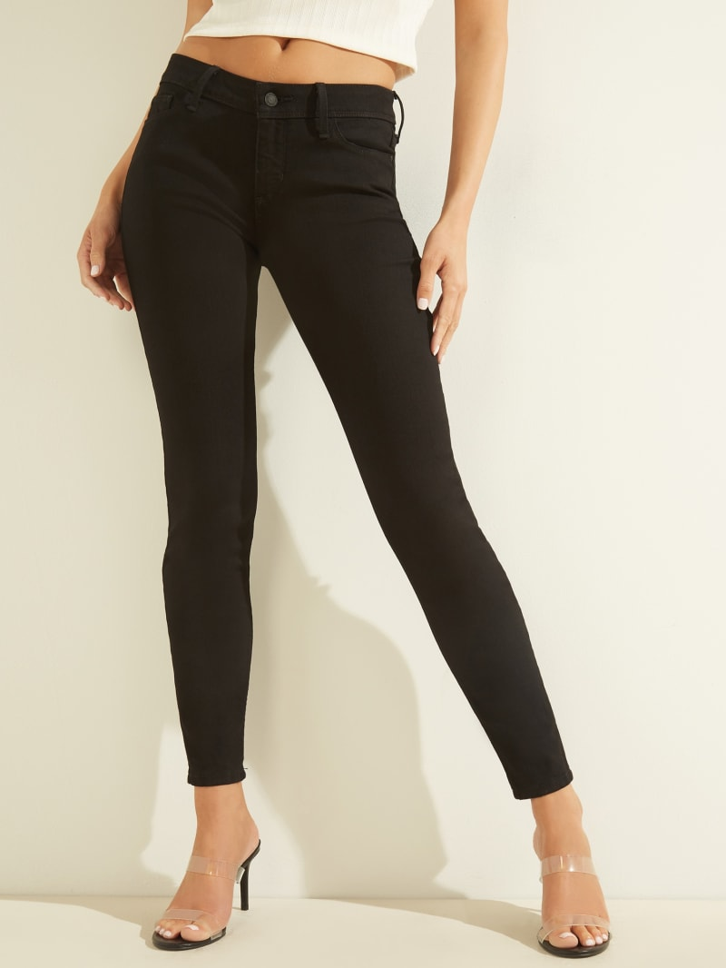 Eco Low-Rise Power Skinny Jeans