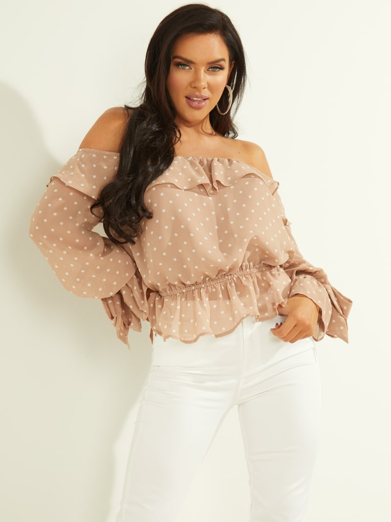 Camrie Off-the-Shoulder Top