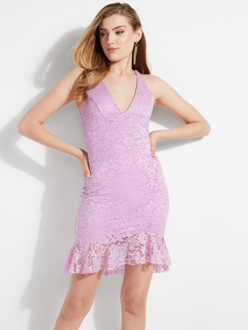 Lulu Sleeveless Lace Dress