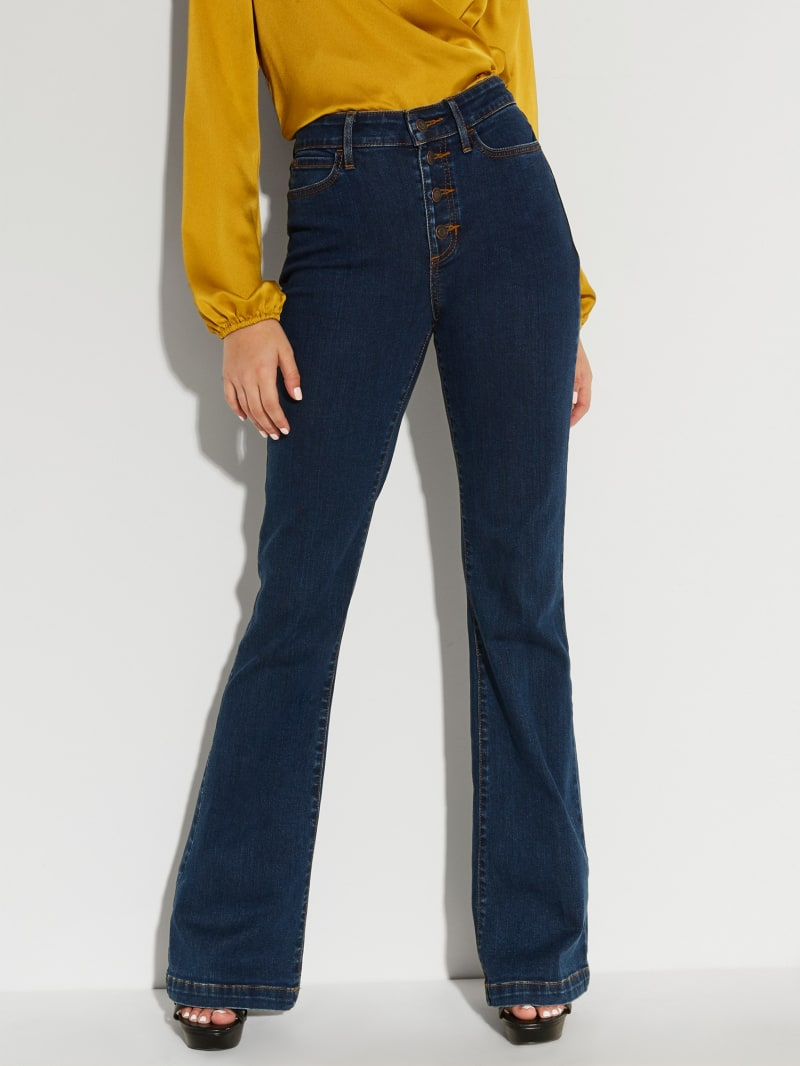 1981 Button-Fly Flare Jeans