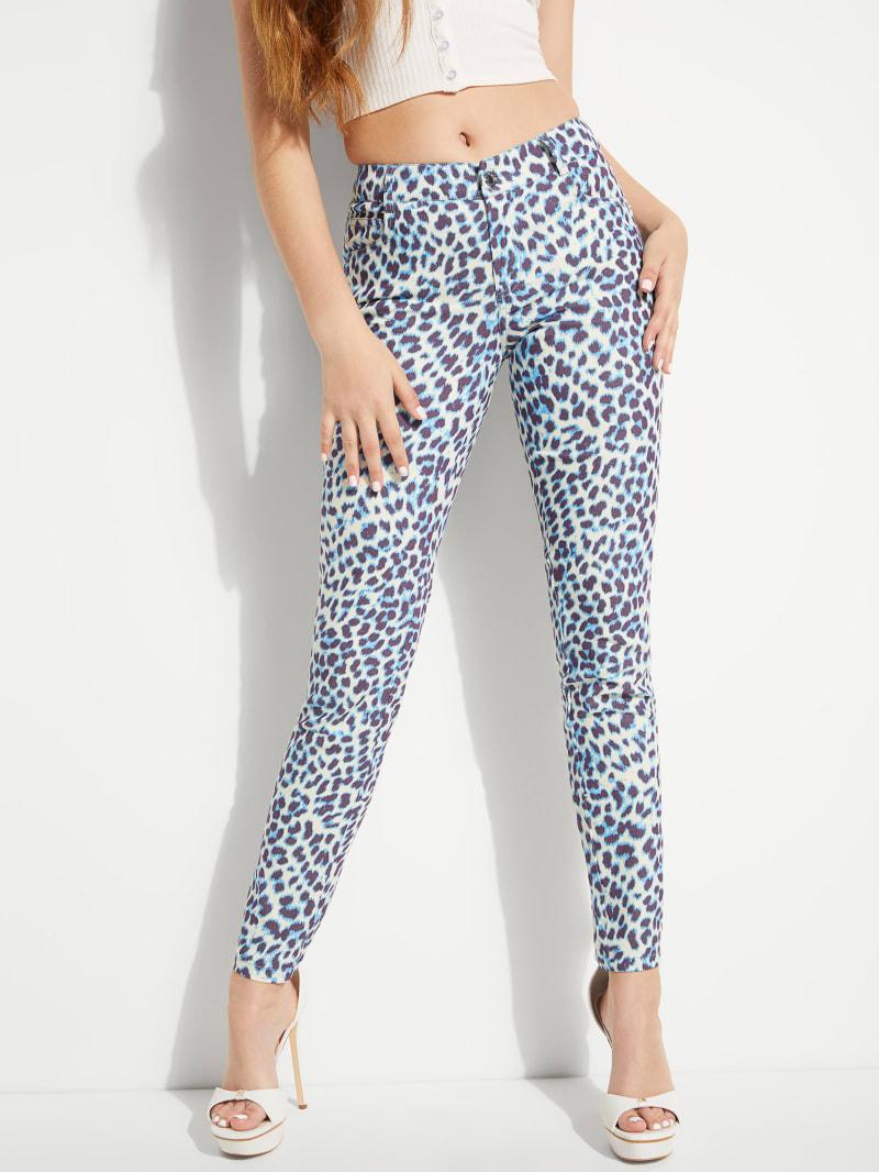 Leopard Sexy Curve Mid-Rise Pants