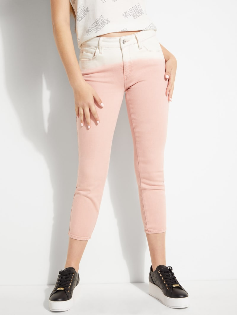 Ombre Sexy Curve Crop Jeans