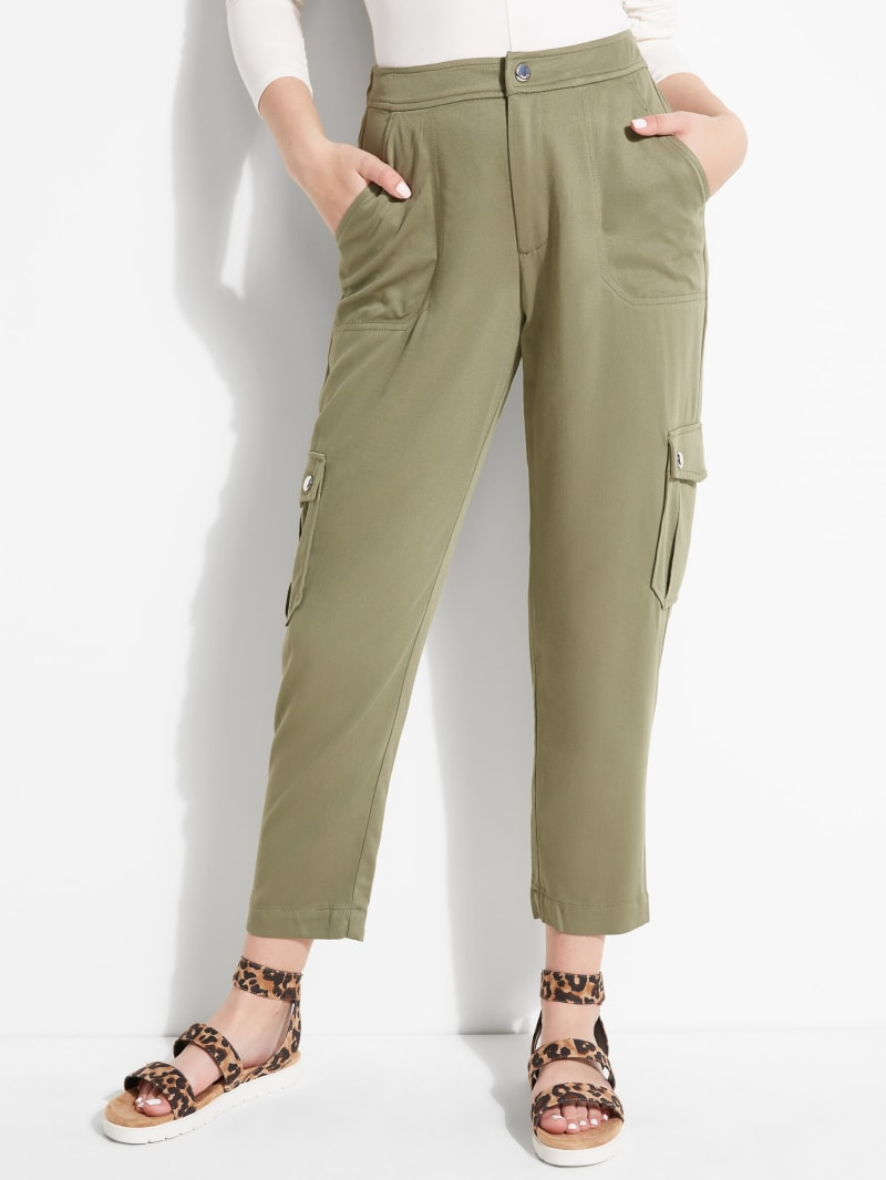 Huxlee Cropped Cargo Pants