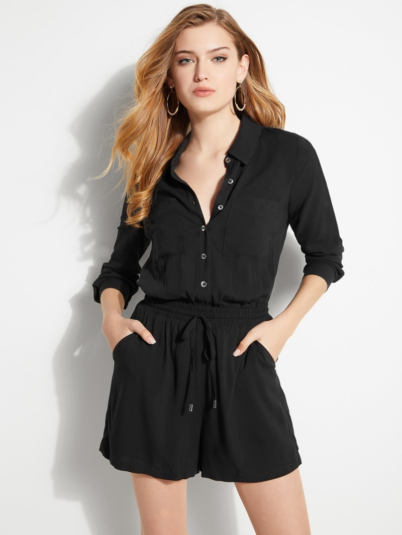 Charlie Button Front Romper