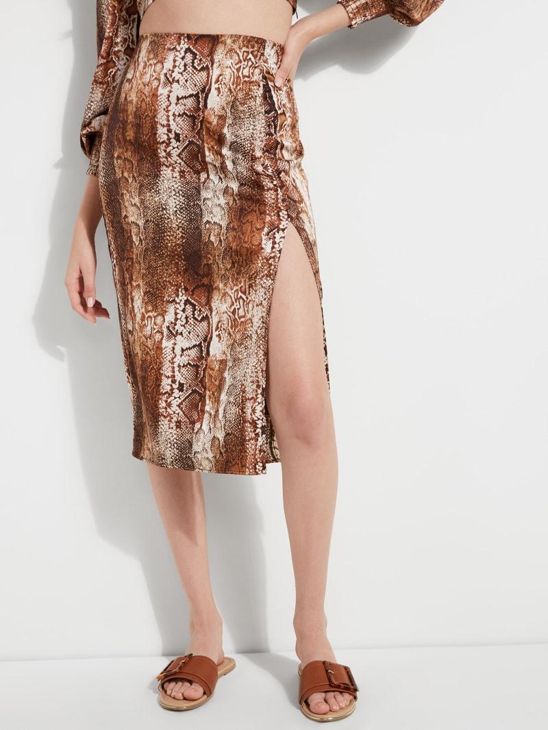 Tammie Printed Midi Skirt
