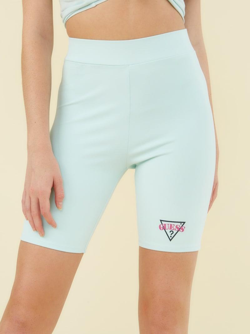 GUESS Originals Logo Biker Shorts