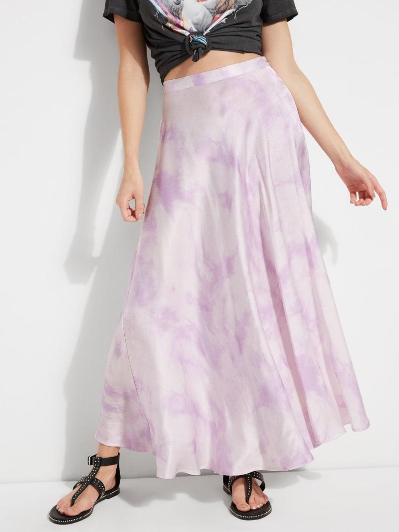 Arielle Tie-Dye Slip Skirt