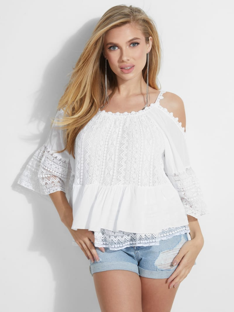 Olimpia Cold-Shoulder Top