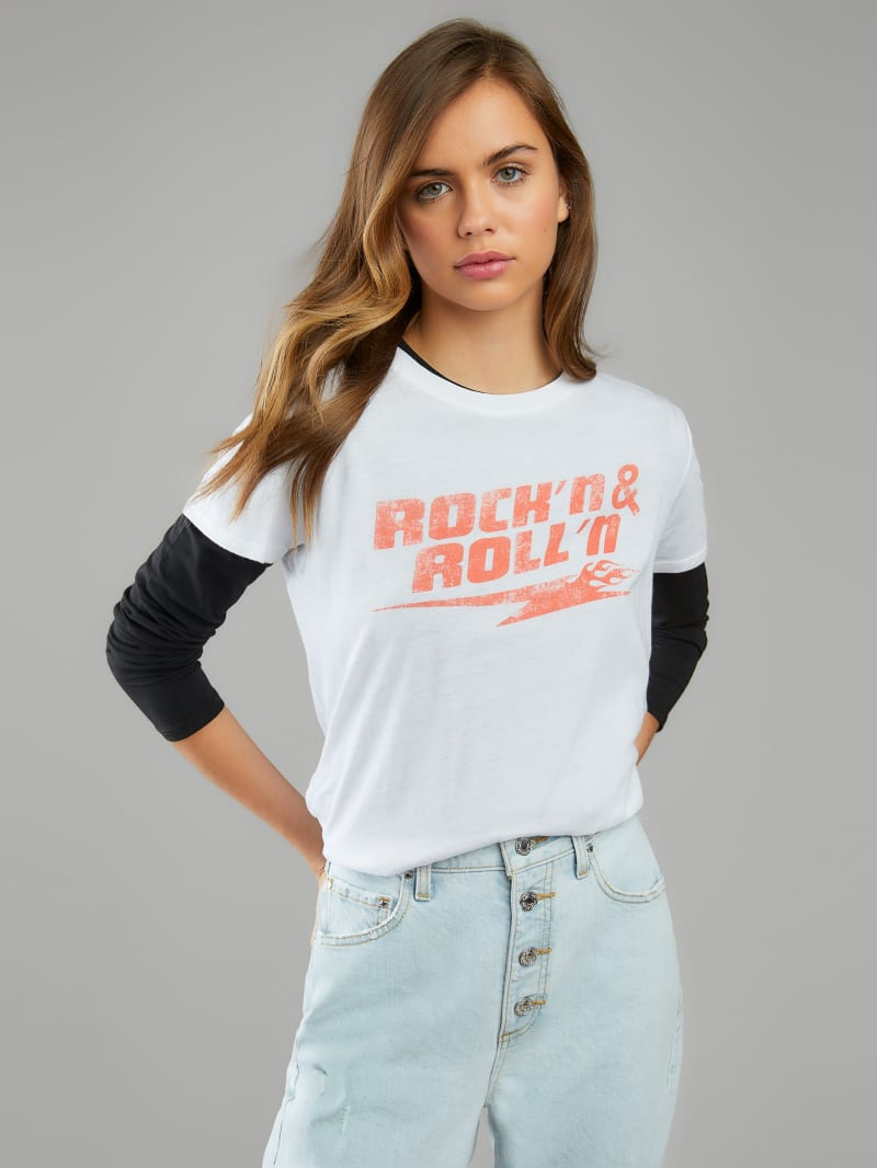 Eco Rock'n Roll Relaxed Graphic Tee